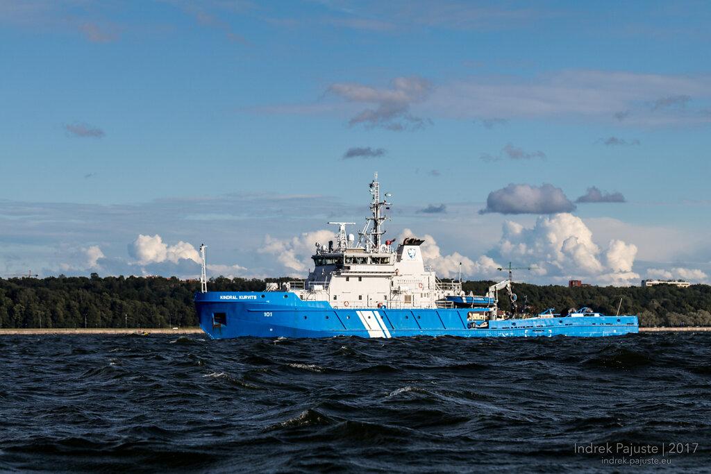 Tall Ships eskadrill Tallinna lahel