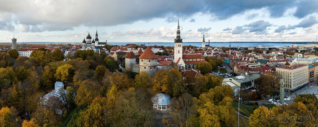 Panoraam Tallinna vanalinnast