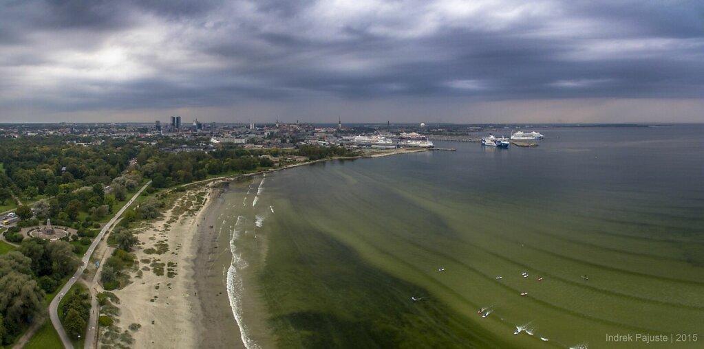 Panoraam vaatega Tallinna kesklinnale