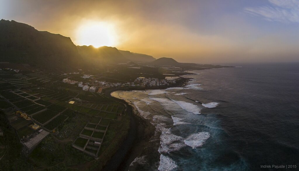 Panoraam Caletast Tenerifel