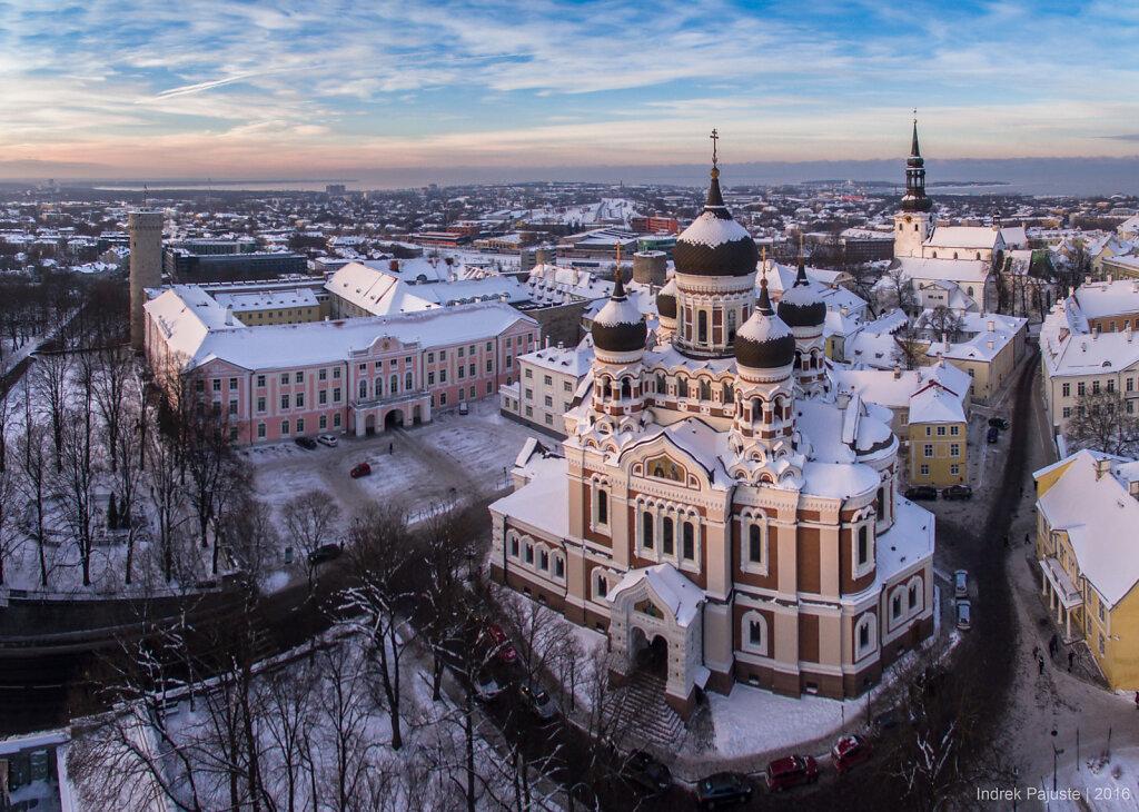 Talvine Aleksander Nevski katedraal