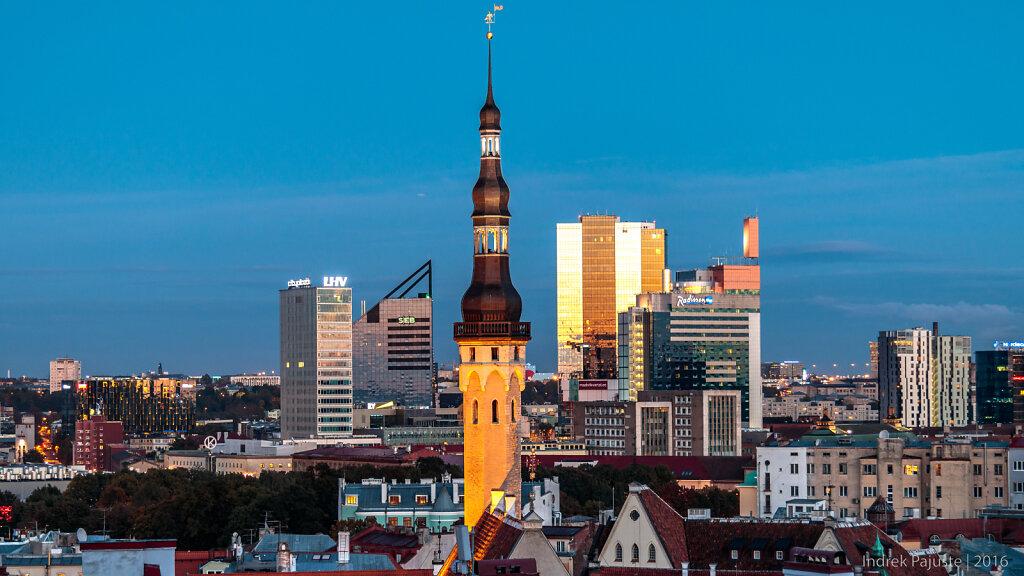 Hilisõhtune Tallinn