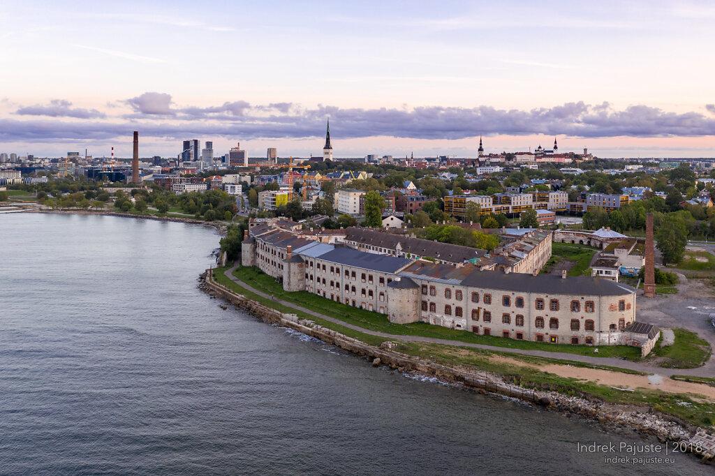 Patarei vangla vaatega Tallinnale