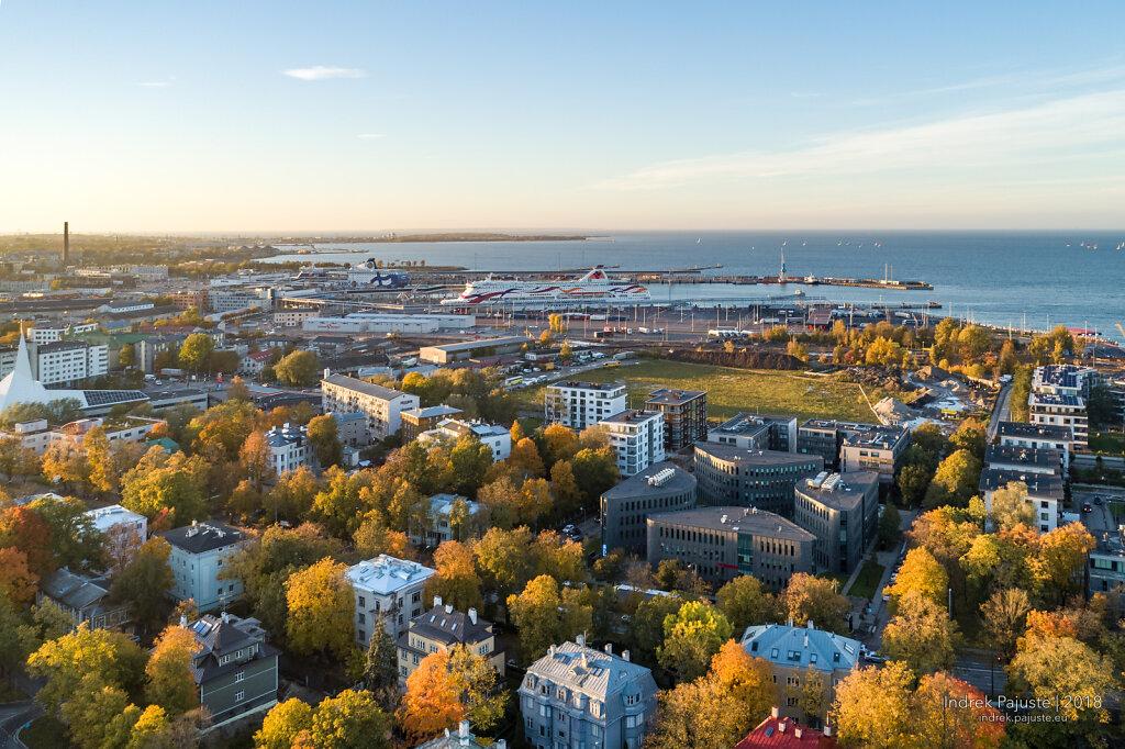 Sügisene vaade Tallinnale
